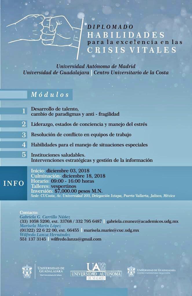 La Universidad Autónoma de Madrid curso Mexico 2018