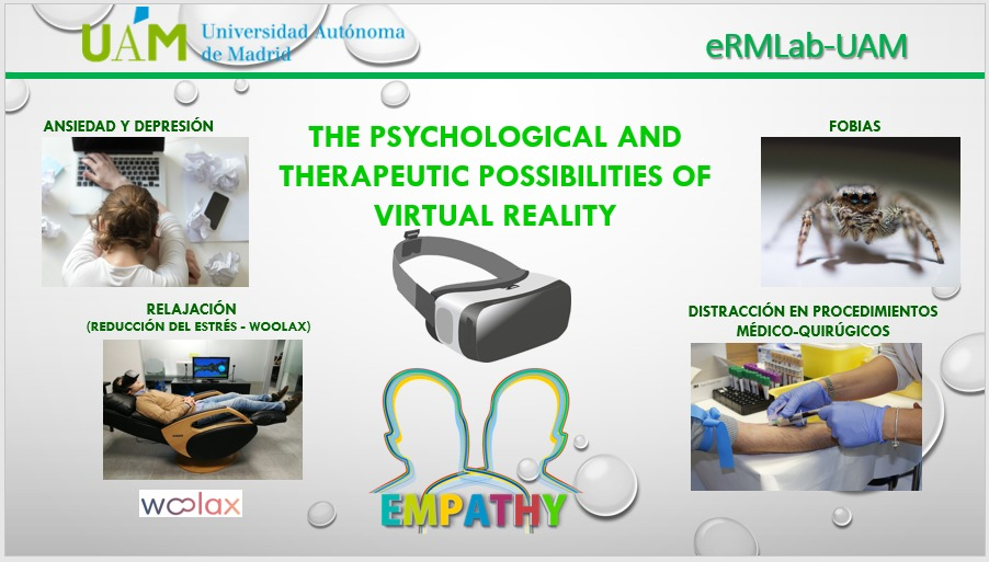 La Universidad Autónoma de Madrid Facultad de Medicina eRMLab Virtual Reality